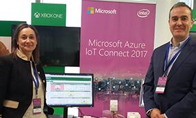 TELNET participa en el Microsoft Azure IoT connect 2017