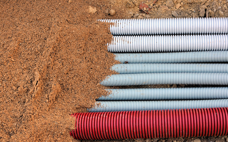 Cable de fibra óptica para ducto y fachada