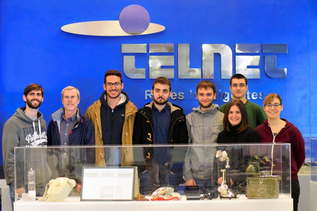 Alumnos cuarto de Ingeniería Superior de Telecomunicaciones