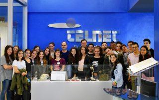 Alumnos del colegio teresiano El Pilar