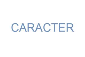 proyecto Caracter