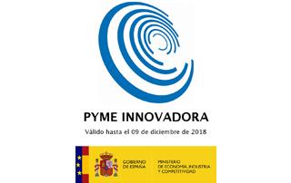 Sello del Gobierno de Economía y competitividad PYME innovadora